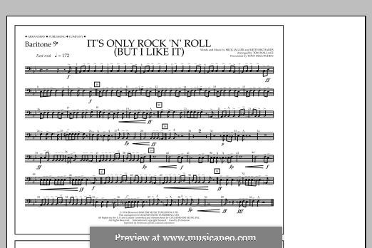 It's Only Rock 'n' Roll (But I Like It): Baritone B.C. part by Keith Richards, Mick Jagger