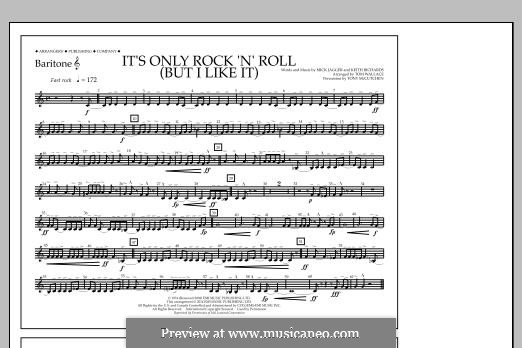 It's Only Rock 'n' Roll (But I Like It): Baritone T.C. part by Keith Richards, Mick Jagger
