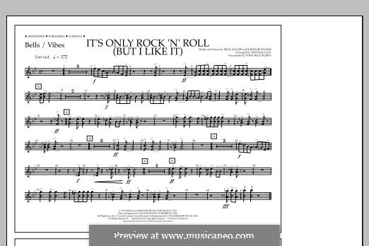 It's Only Rock 'n' Roll (But I Like It): Bells/Vibes part by Keith Richards, Mick Jagger