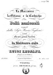 La Mazurka, la gitana e la Cachucha: La Mazurka, la gitana e la Cachucha by Луиджи Леньяни