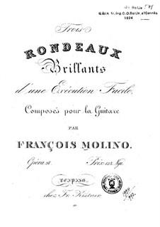 Три рондо, Op.28: Три рондо by Франческо Молино