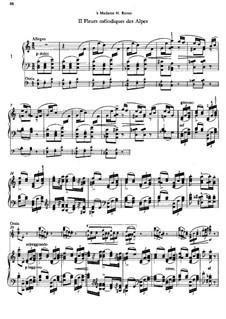 Альбом путешественника, S.156: Тетрадь II, No.1  by Франц Лист