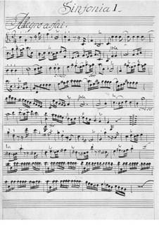 Увертюра No.2: Увертюра No.2 by Карл Фридрих Абель