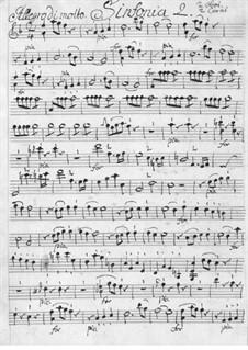 Увертюра No.5: Увертюра No.5 by Карл Фридрих Абель