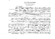 Souvenirs de Londres on Themes by G. Persiani: Souvenirs de Londres on Themes by G. Persiani by Иоганн Фридрих Бургмюллер