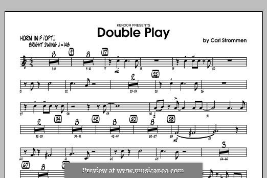 Double Play: Horn in F part by Carl Strommen