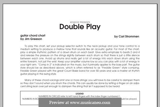 Double Play: Guitar/ Rhythm part by Carl Strommen