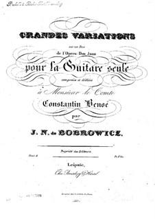 Grandes Variations, Op.6: Grandes Variations by Ян Непомуцен Бобрович