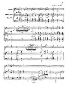 Фантазия на темы из оперы 'Норма' Беллини, Op.13: Партитура by Александр Жозеф Арто