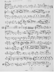 Симфония No.15: Партии by Эрнст Леви