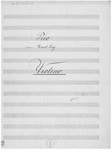 Фортепианное трио: Партии by Эрнст Леви
