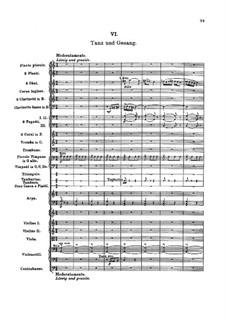 Турандот. Сюита, BV 248 Op.41: Часть VI Танец и песня by Ферруччо Бузони