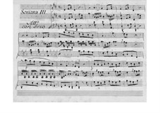 No.3 ре мажор, W B45: Партитура для двух исполнителей by Иоганн Христиан Бах