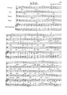 Wir gläuben all an einen Gott: Singpartitur by Арнольд фон Брук