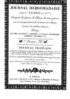 Le rétour de la Sentinelle for Voice and Piano (or Harp): Le rétour de la Sentinelle for Voice and Piano (or Harp) by Henri Darondeau