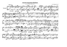 Большой героический марш на коронацию Николая I, D.885: Для фортепиано в 4 руки by Франц Шуберт