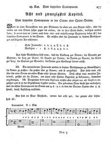 Фундаментальное руководство по композиции: Глава 28 by Иоганн Георг Альбрехтсбергер