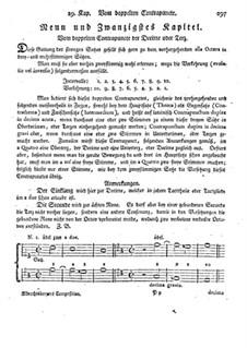Фундаментальное руководство по композиции: Глава 29 by Иоганн Георг Альбрехтсбергер