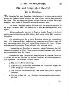 Фундаментальное руководство по композиции: Главы 31-32 by Иоганн Георг Альбрехтсбергер