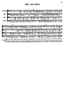 Müe und Arbeit: Müe und Arbeit by Арнольд фон Брук