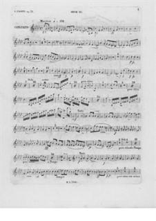Весь концерт: Партия второго гобоя by Фредерик Шопен
