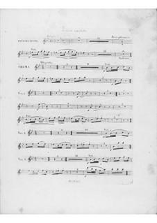 Вариации на тему 'Là ci darem la mano' из оперы 'Дон Жуан' Моцарта, Op.2: Партия второй флейты by Фредерик Шопен