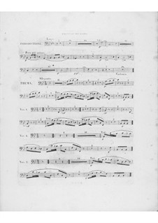 Вариации на тему 'Là ci darem la mano' из оперы 'Дон Жуан' Моцарта, Op.2: Партия второго фагота by Фредерик Шопен