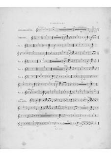 Вариации на тему 'Là ci darem la mano' из оперы 'Дон Жуан' Моцарта, Op.2: Партия литавр by Фредерик Шопен
