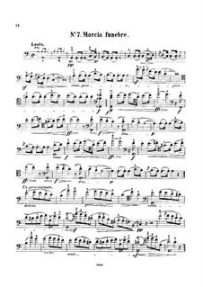 Соната для фортепиано No.2 си-бемоль минор, Op.35: Часть III, для виолончели и фортепиано – сольная партия by Фредерик Шопен
