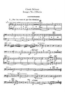 Set III, No.2 Iberia, L.122: Партия контрабаса by Клод Дебюсси