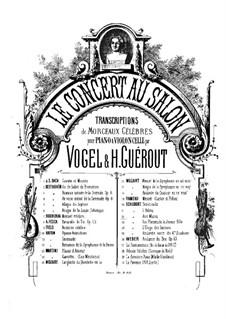 Сюита No.3 соль минор, BWV 808: Гавот и Мюзетт. Версия для скрипки (или флейты, или виолончели) и фортепиано by Иоганн Себастьян Бах