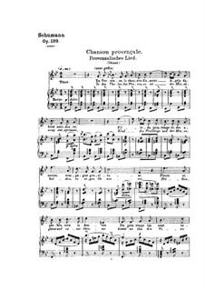 Проклятие певца, Op.139: No.4, 7 by Роберт Шуман