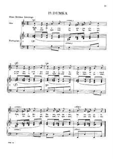 Rêverie (Dumka), B.132 KK IVb/9: Rêverie (Dumka) by Фредерик Шопен