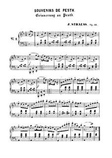 Souvenirs de Pesth, Op.66: Souvenirs de Pesth by Иоганн Штраус (младший)