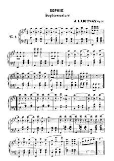 Sophie, Op.31: Sophie by Йозеф Лабицки