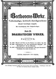 Афинские развалины, Op.114: Марш и хор by Людвиг ван Бетховен