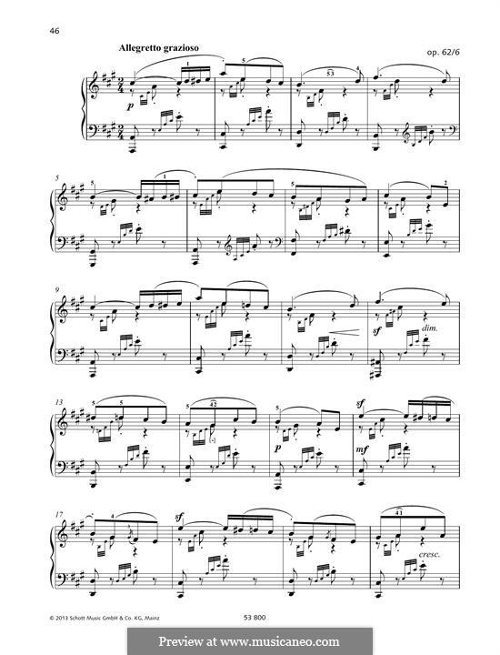 Песни без слов, Op.62: No.6 Spring Song by Феликс Мендельсон-Бартольди
