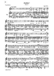 Six Songs, Op.6: No.4 Juchhe (Whoop) by Иоганнес Брамс