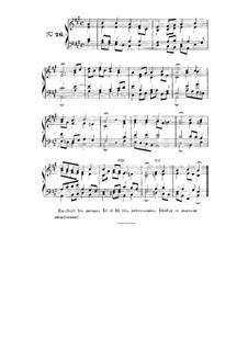 Choix de chorals: Choral No.26 by Иоганн Себастьян Бах
