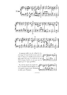 Choix de chorals: Choral No.12 by Иоганн Себастьян Бах