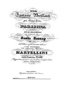 Блестящая фантазия на темы из оперы 'Паризина' Доницетти, Op.327: Фантазия No.1 by Карл Черни