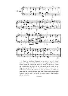 Choix de chorals: Choral No.14 by Иоганн Себастьян Бах