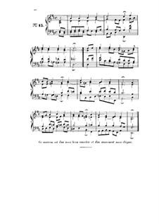 Choix de chorals: Choral No.15 by Иоганн Себастьян Бах