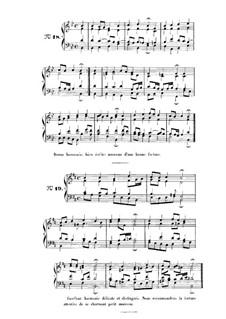 Choix de chorals: Choral No.18 by Иоганн Себастьян Бах