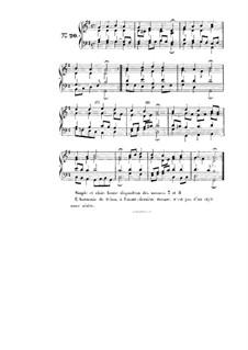Choix de chorals: Choral No.20 by Иоганн Себастьян Бах