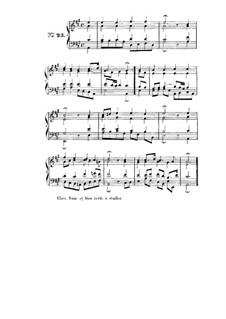 Choix de chorals: Choral No.23 by Иоганн Себастьян Бах