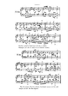 Choix de chorals: Choral No.24 by Иоганн Себастьян Бах
