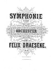Симфония No.1 соль мажор, Op.12: Часть I by Феликс Дрезеке