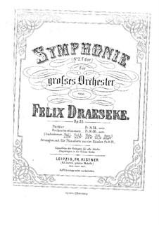 Симфония No.2 фа мажор, Op.25: Первая и вторая партии by Феликс Дрезеке