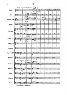 Симфония No.2 фа мажор, Op.25: Часть IV. Партитура by Феликс Дрезеке